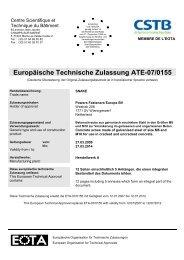 ETA-07/0155 - bei Powers Europe