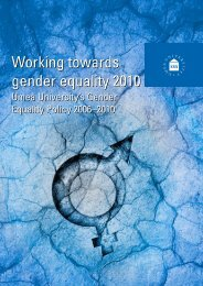 Gender Equality Policy