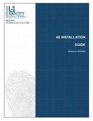 4G INSTALLATION GUIDE - Morpho