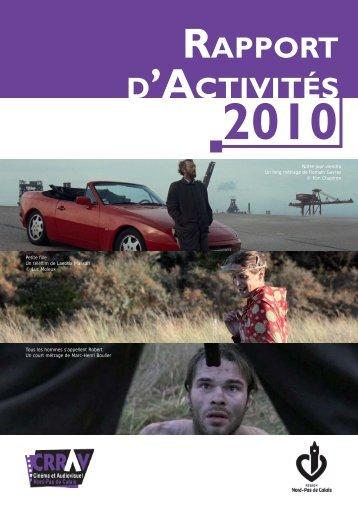 Rapport d'activités CRRAV 2010 - Pictanovo