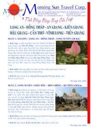 Sông Cửu Long - Vui lòng xem chi tiết tại đây - Morning Sun Travel