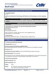 BioFresh - CEBE Reinigungschemie GmbH