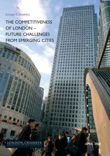 The Competitiveness of London - London Chamber of Commerce ...