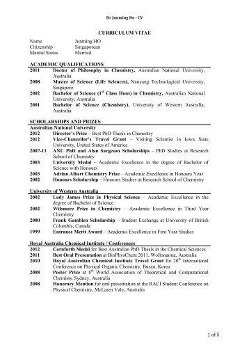 resume yale chemistry yale university