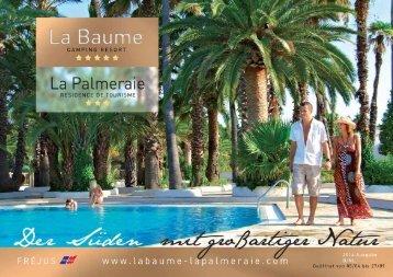 Brochure - La Baume et La Palmeraie