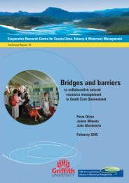Bridges and barriers - OzCoasts