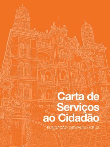 Carta de Serviços ao Cidadão - Farmanguinhos - Fiocruz