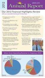 Annual Report - 2012 - Arbor Acres