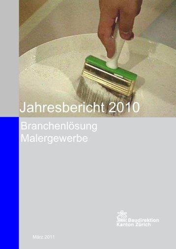 Jahresbericht 2010 VUM