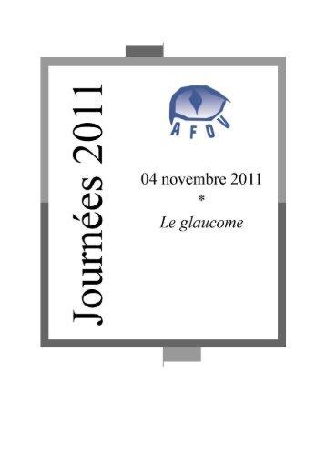 Le Glaucome - Association pour la Formation en Ophtalmologie ...