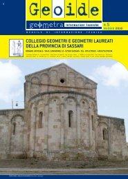 maggio 2010 - Collegio dei Geometri della provincia di Sassari