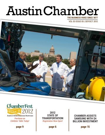 seP/oCT 2012 - The Greater Austin Chamber of Commerce