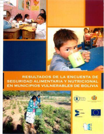 resultados de la encuesta de seguridad alimentaria y nutricional en ...