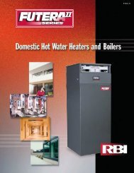 RBI Futera II brochure - California Boiler