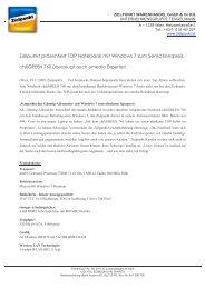Zielpunkt präsentiert TOP Notebook mit Windows 7 zum
