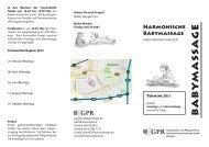 babymassage - GPR Gesundheits- und Pflegezentrum Rüsselsheim ...