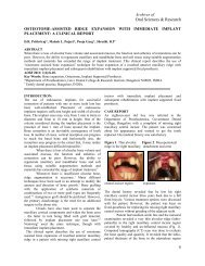 osteotome-assisted ridge expansion with immediate ... - Aosr.co.in
