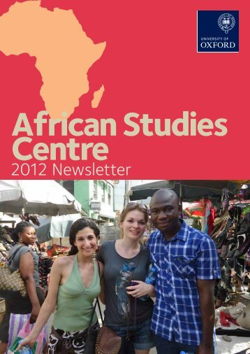now available online - African Studies Centre - University of Oxford