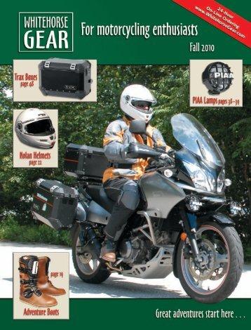 Touring, Sport, & Mesh Jackets - Whitehorse Gear