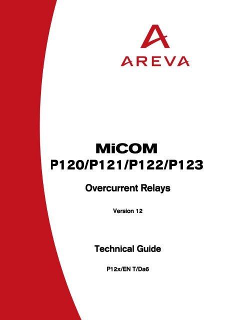 MiCOM P120/P121/P122/P123 - Schneider - error