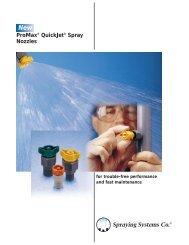 ProMax® QuickJet® Spray Nozzles - Lehengoak