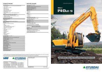 Çalışma Ağırlığı: 13980 kg Motor Gücü: 119 HP-89 kW Kova ... - HMF