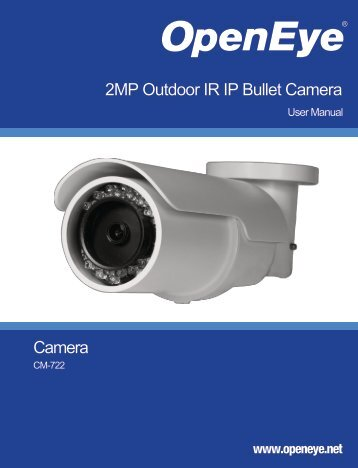Camera 2MP Outdoor IR IP Bullet Camera ... - TristateTelecom