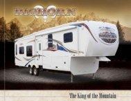 2010 Bighorn 5th wheel Travel Trailer Brochure - Olathe Ford RV ...