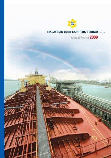 Annual Report 2009 - Malaysian Bulk Carriers Berhad