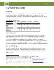 Download the farmers markets tool (pdf) - Oregon Small Farms ...
