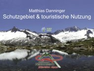 Alpenpflanzen - Überlebenskünstler an ... - SURF-nature