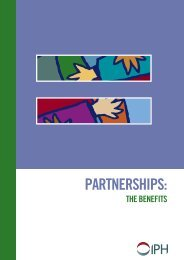 Partnerships: The Benefits - Partnership Evaluation Tool