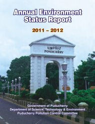 Annual Environment Status - Department of Science,Technology ...