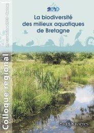 La biodiversité des milieux aquatiques de Bretagne - Eau et rivières ...