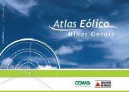 Atlas Eólico de Minas Gerais - Cresesb - Cepel