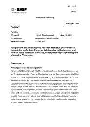 GA Forum - BASF Pflanzenschutz Österreich
