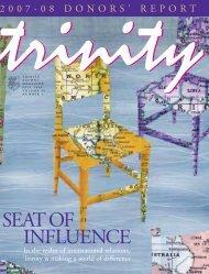 SEATOF INFLUENCE - Trinity College - University of Toronto