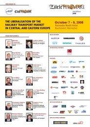 October 7 - 9, 2008 - Railway Days 2013 - Club Feroviar