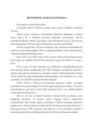 DR SZABÓ PÁL SZAKMAI ÉLETRAJZA - DE Pszichológiai Intézet