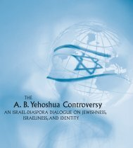 Israel and the Diaspora - American Jewish Committee
