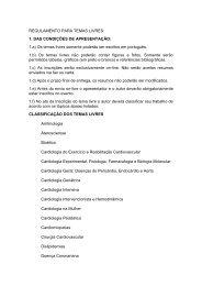 REGULAMENTO PARA TEMAS LIVRES - 66 Congresso Brasileiro ...