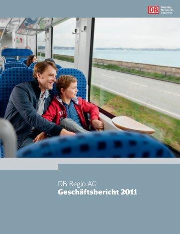 DB Regio AG Geschäftsbericht 2011 - Deutsche Bahn AG