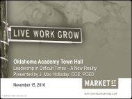 Oklahoma Academy Town Hall
