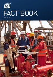 Tullow Oil half-yearly Results 2012: Fact Book - The Group
