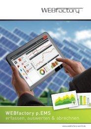 WEBfactory p.EMS Broschüre