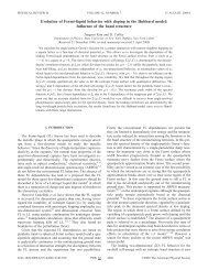 Evolution of Fermi-liquid behavior with doping in the Hubbard model