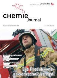 Chemie Journal 09/2009 - Arbeitsgruppe für verfolgte ...