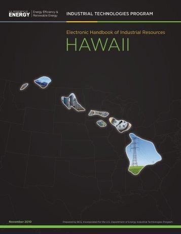 Electronic Handbook of Industrial Resources Hawaii