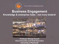 Business-HE Partnerships - Plymouth University