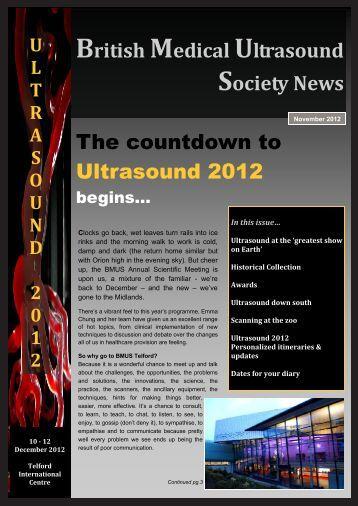 BMUS Newsletter - November 2012 - PDF - British Medical ...
